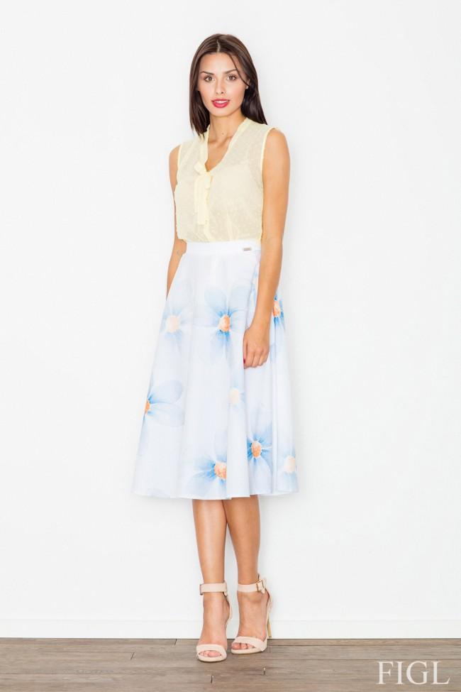 Dámská sukně Figl M495 květovaná