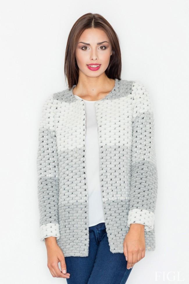 Dámské sako Figl M-506 - šedá - Forseti-fashion.cz 3218a21331