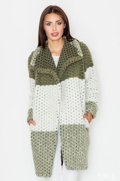 Dámský kabát Figl M 507 zelená