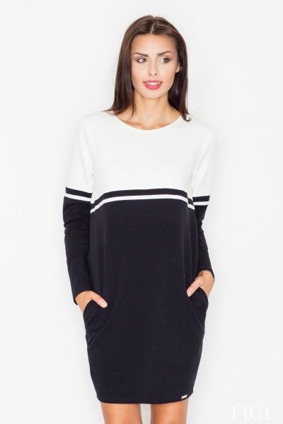 Dámské šaty Figl  M 510 - černá