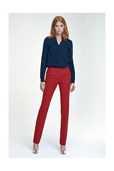Dámské kalhoty Nife Sd 25 - červené