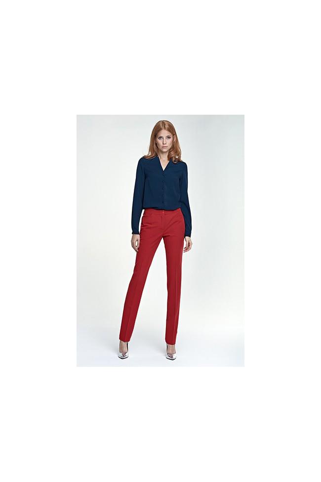 8846b873c8b5 Dámské kalhoty Nife Sd 25 - červené - Forseti-fashion.cz