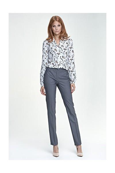 Dámské kalhoty Nife Sd 25 - šedá