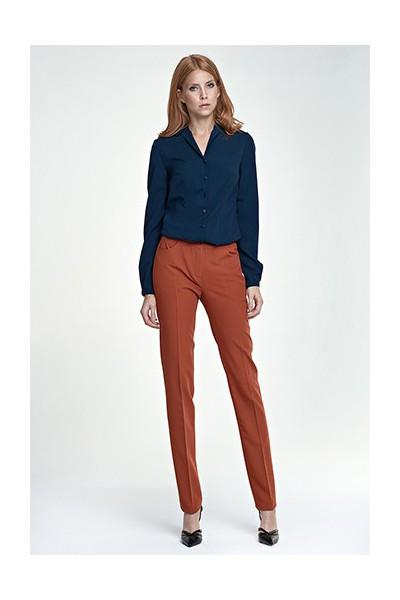 Dámské kalhoty Nife Sd 25 - tmavě červené