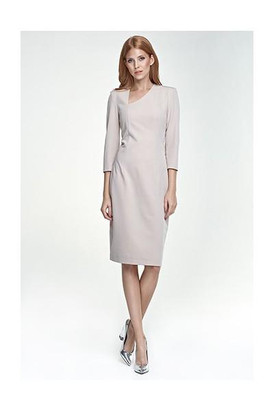 Dámské šaty Nife S76 béžové