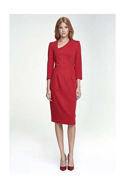 Dámské šaty Nife S76 červené