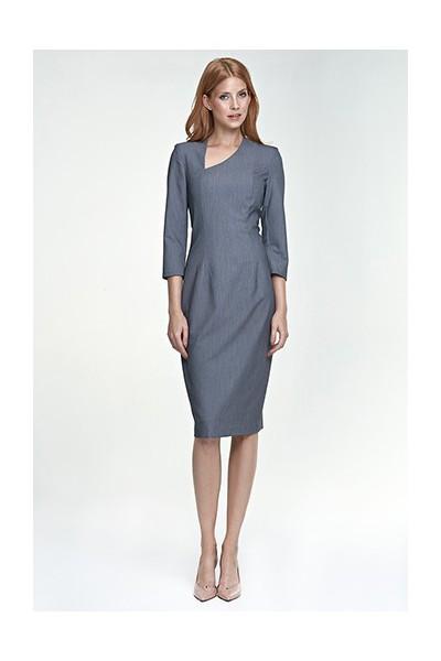 Dámské šaty Nife S76 šedé