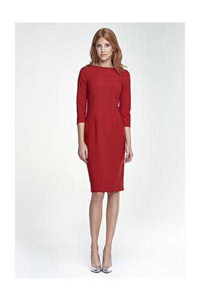 Dámské šaty Nife S80 červené