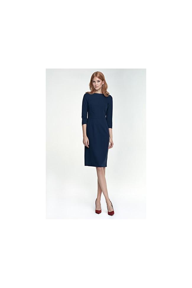 Dámské šaty Nife S80 granát