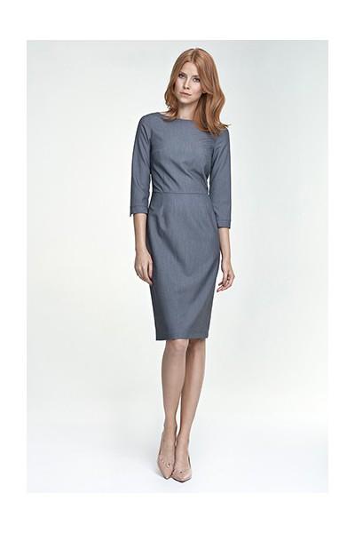 Dámské šaty Nife S80 šedá