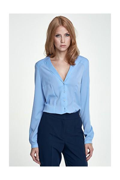 Dámská košile Nife K 50-modrá