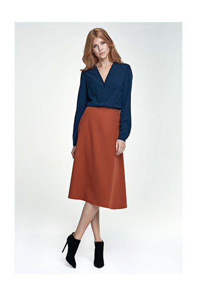 Dámská sukně Nife Sp30 tmavě červená