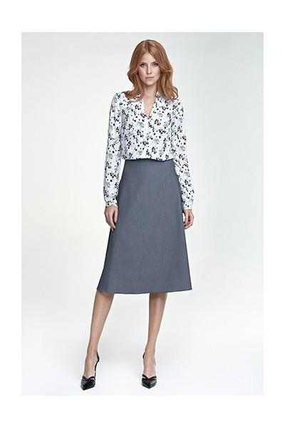 Dámská sukně Nife Sp30 šedá
