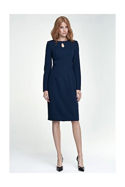 Dámské šaty Nife S79 granát