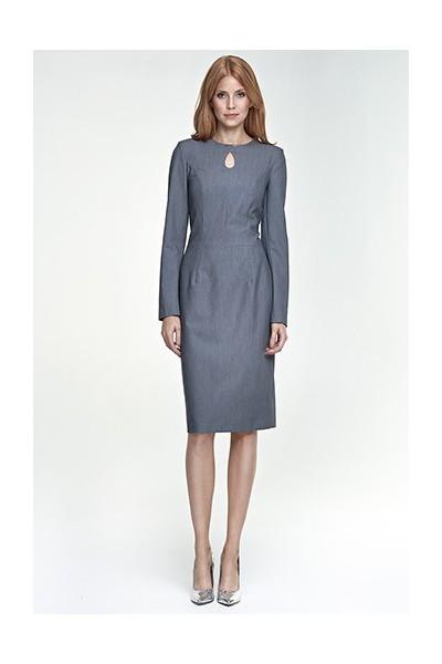 Dámské šaty Nife S79 šedá