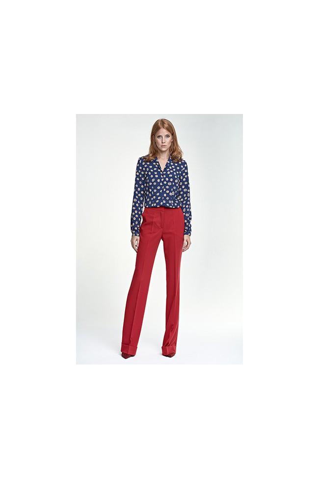 Dámské kalhoty Nife Sd 26 - červené
