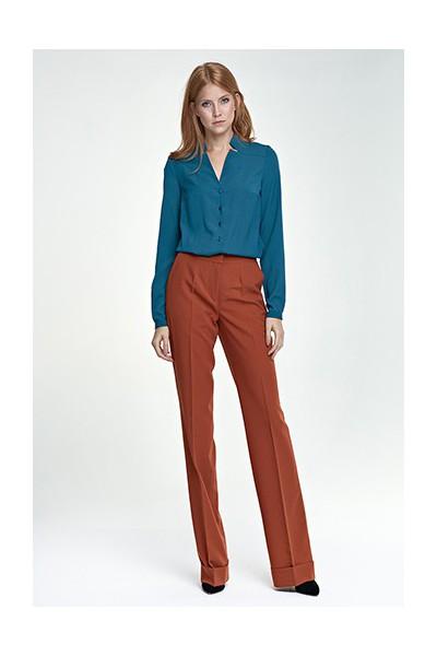 Dámské kalhoty Nife Sd 26 - ruda