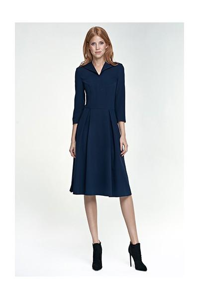 Dámské šaty Nife S78 granát
