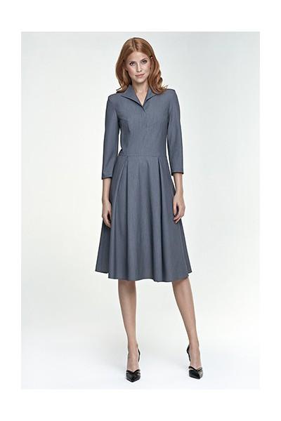 Dámské šaty Nife S78 šedá