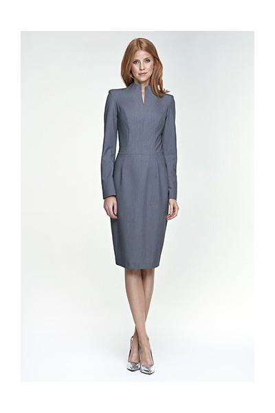 Dámské šaty Nife S75 šedá