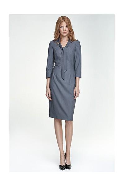 Dámské šaty Nife S77 šedé