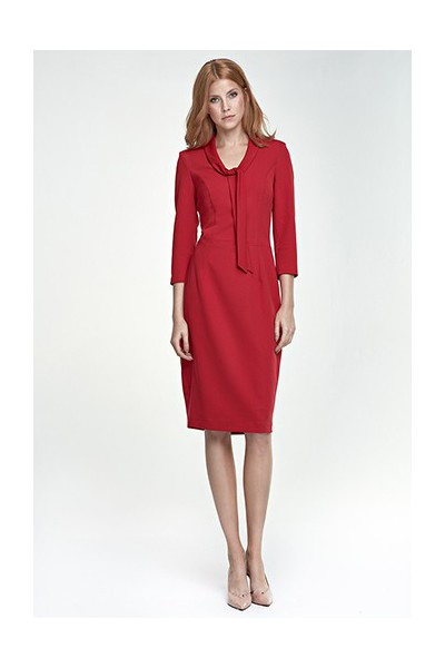 Dámské šaty Nife S77 červené