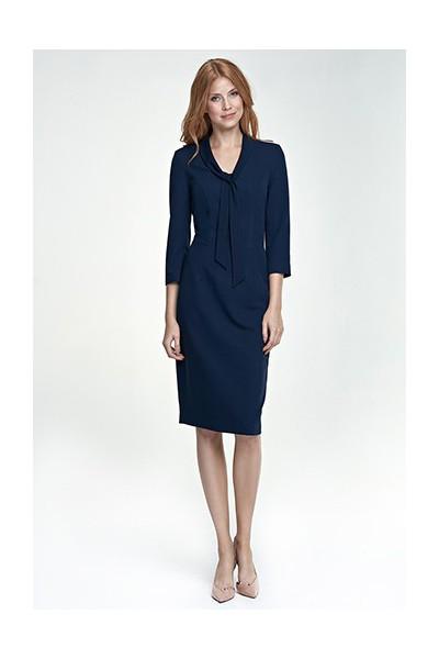 Dámské šaty Nife S77 granát