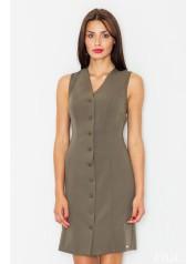 Dámské šaty Figl  M 530 olivové