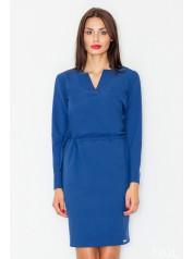 Dámské šaty Figl  M 533 modré