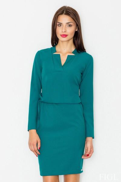 Dámské šaty Figl  M 533 zelené