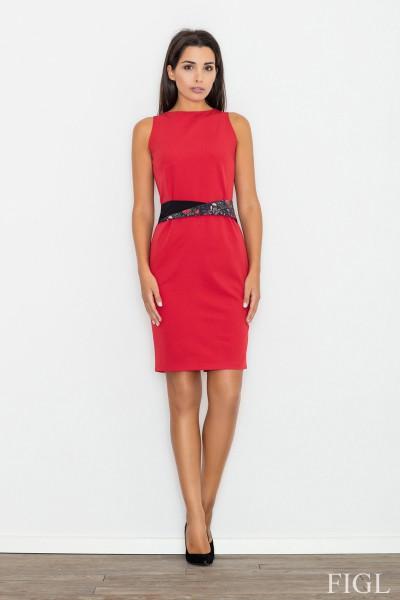 Dámské šaty Figl  M 534 červené