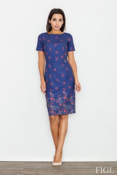 Dámské šaty Figl  M 536 modrá
