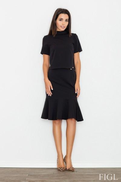Dámská sukně Figl M538 černá