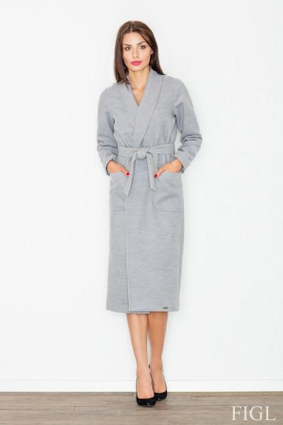 Dámský kabát Figl M 532 sv.šedá