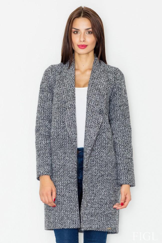 Dámský kabát Figl M 531 šedá
