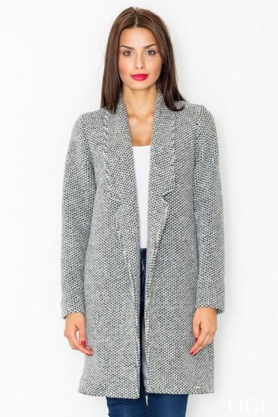 Dámský kabát Figl M 527 šedá
