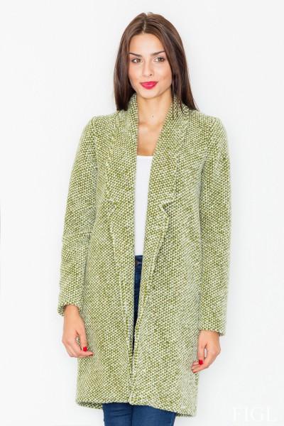 Dámský kabát Figl M 527 zelená