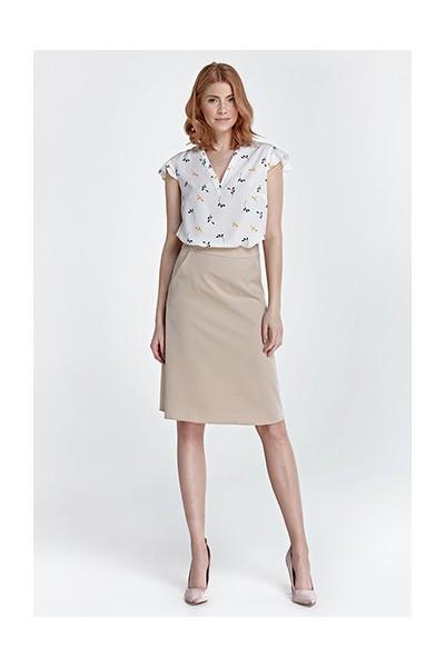 Dámská sukně Nife Sp32 béžová