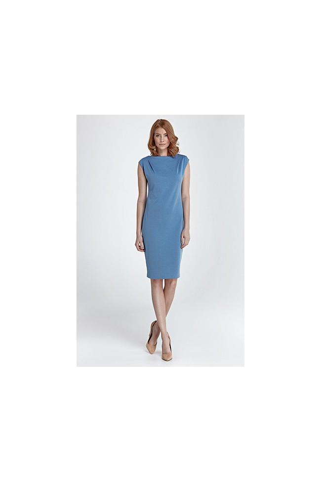 Dámské šaty Nife S84 modrá