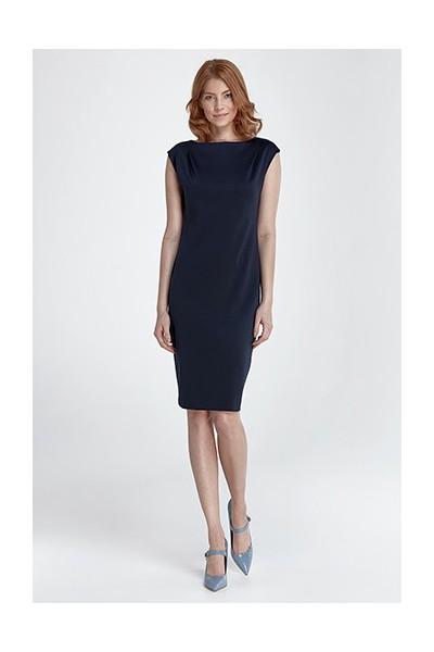 Dámské šaty Nife S84 granát