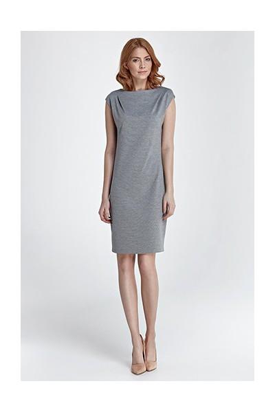 Dámské šaty Nife S84 šedá