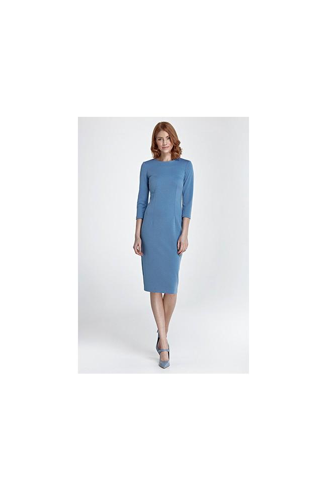 Dámské šaty Nife S 81 modrá
