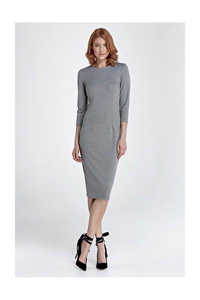 Dámské šaty Nife S 81 šedá