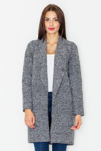 kabát figl M531šedý