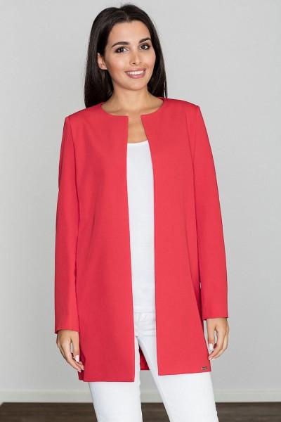 Kabát Figl M551 červená