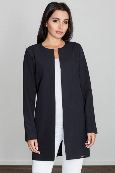 Dámský kabát Figl M551 černý