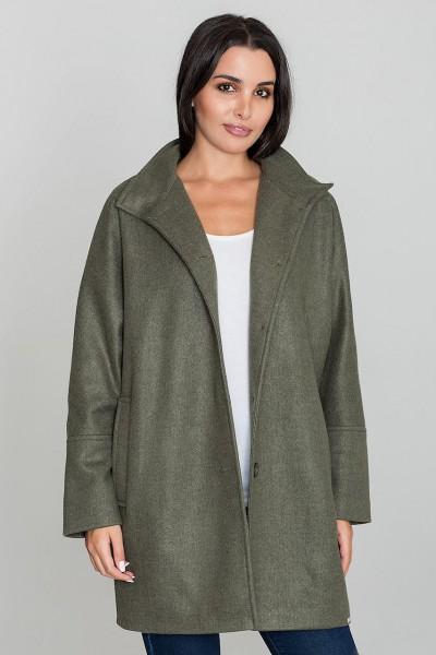 Dámský kabát Figl M589 olivka