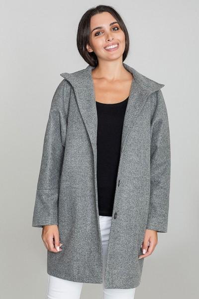Dámský kabát Figl M589 šedá