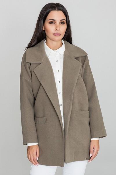 Dámský kabát Figl M590 olivová