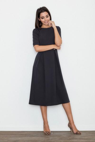 Dámské šaty Figl  M 553 černé